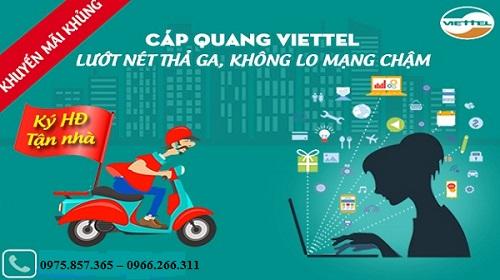 Lắp mạng viettel tại Ninh Giang
