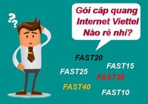 Gói cước internet viettel rẻ nhất